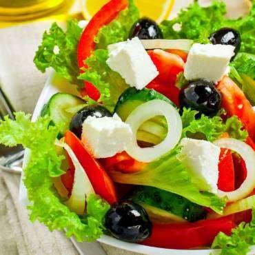 Tradycyjna grecka sałatka